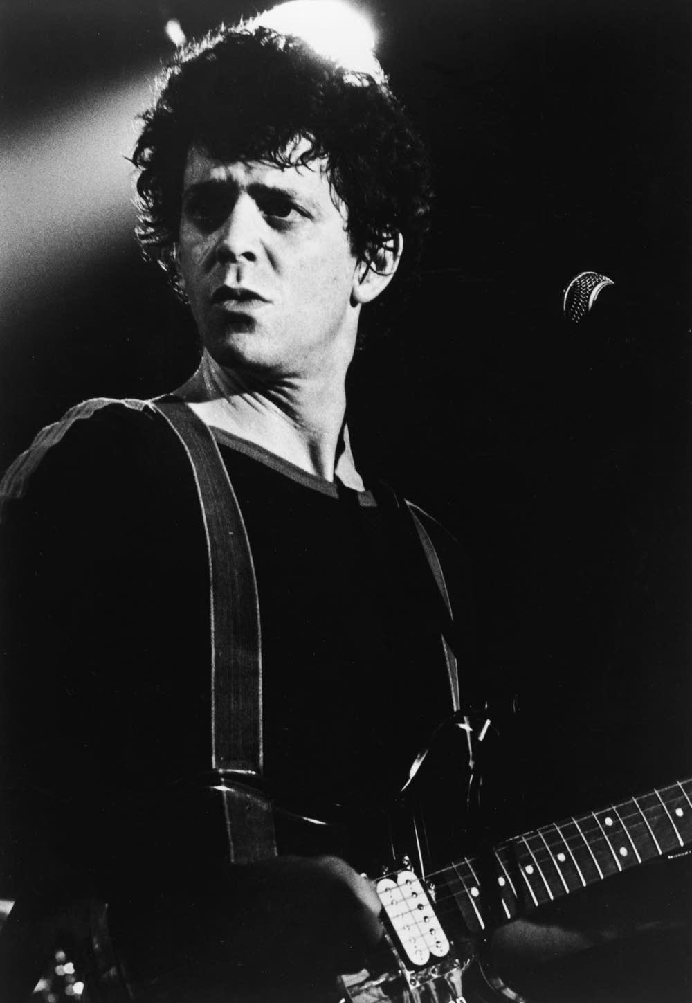 Lou Reed On Stage