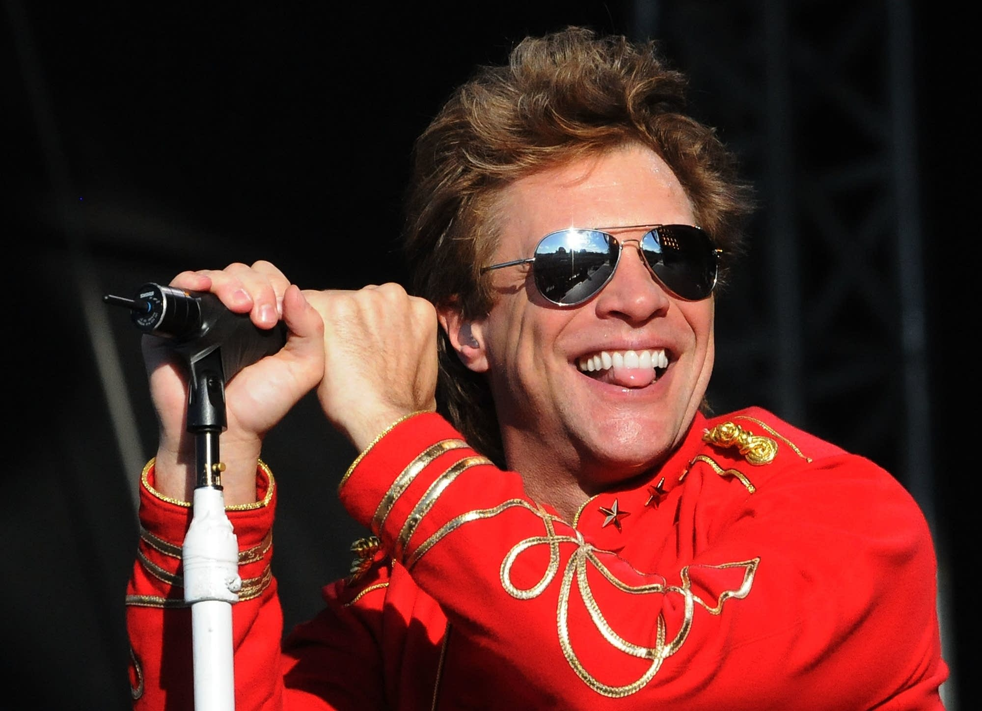 Jon Bon Jovi performs in 2011
