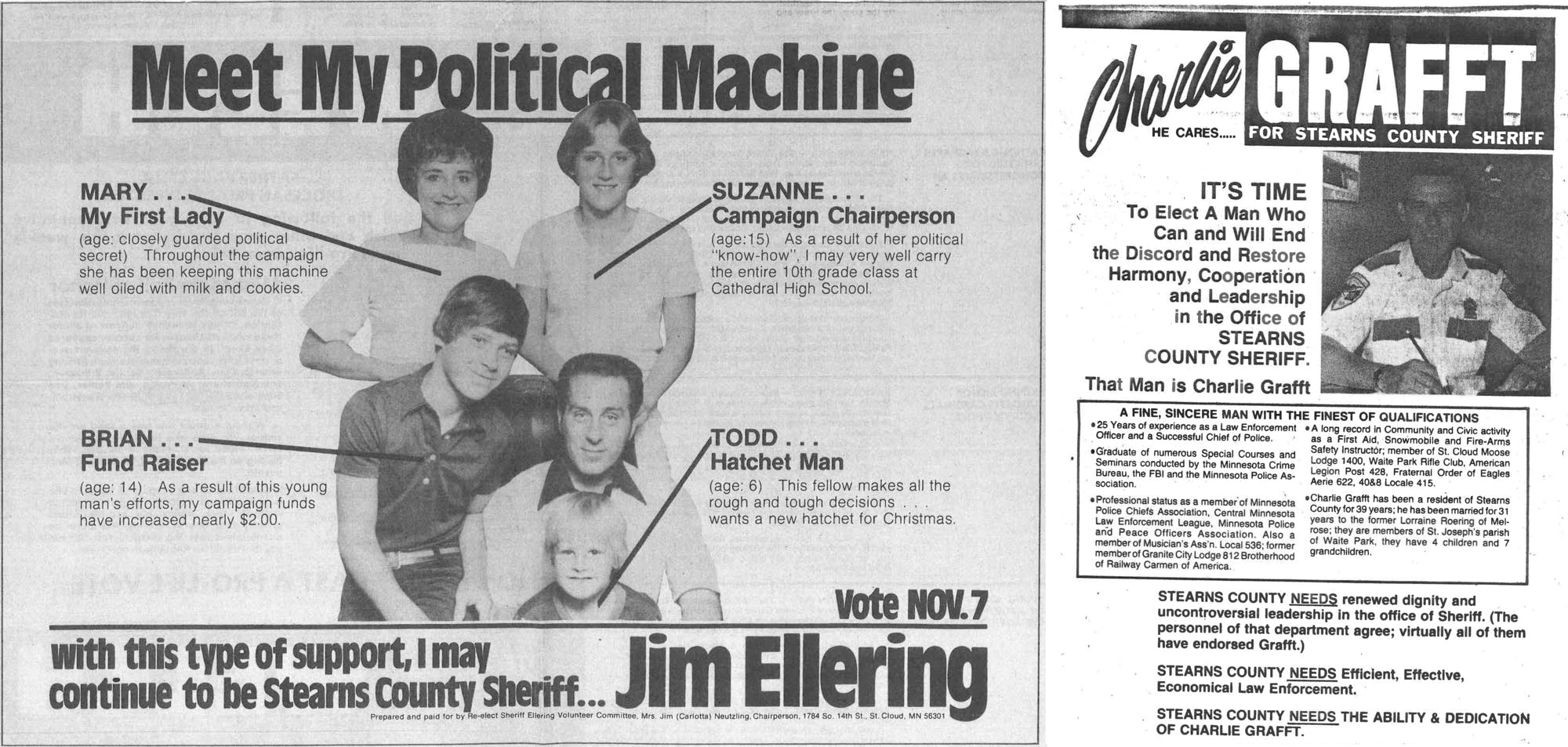 Stearns County sheriff race (1978)