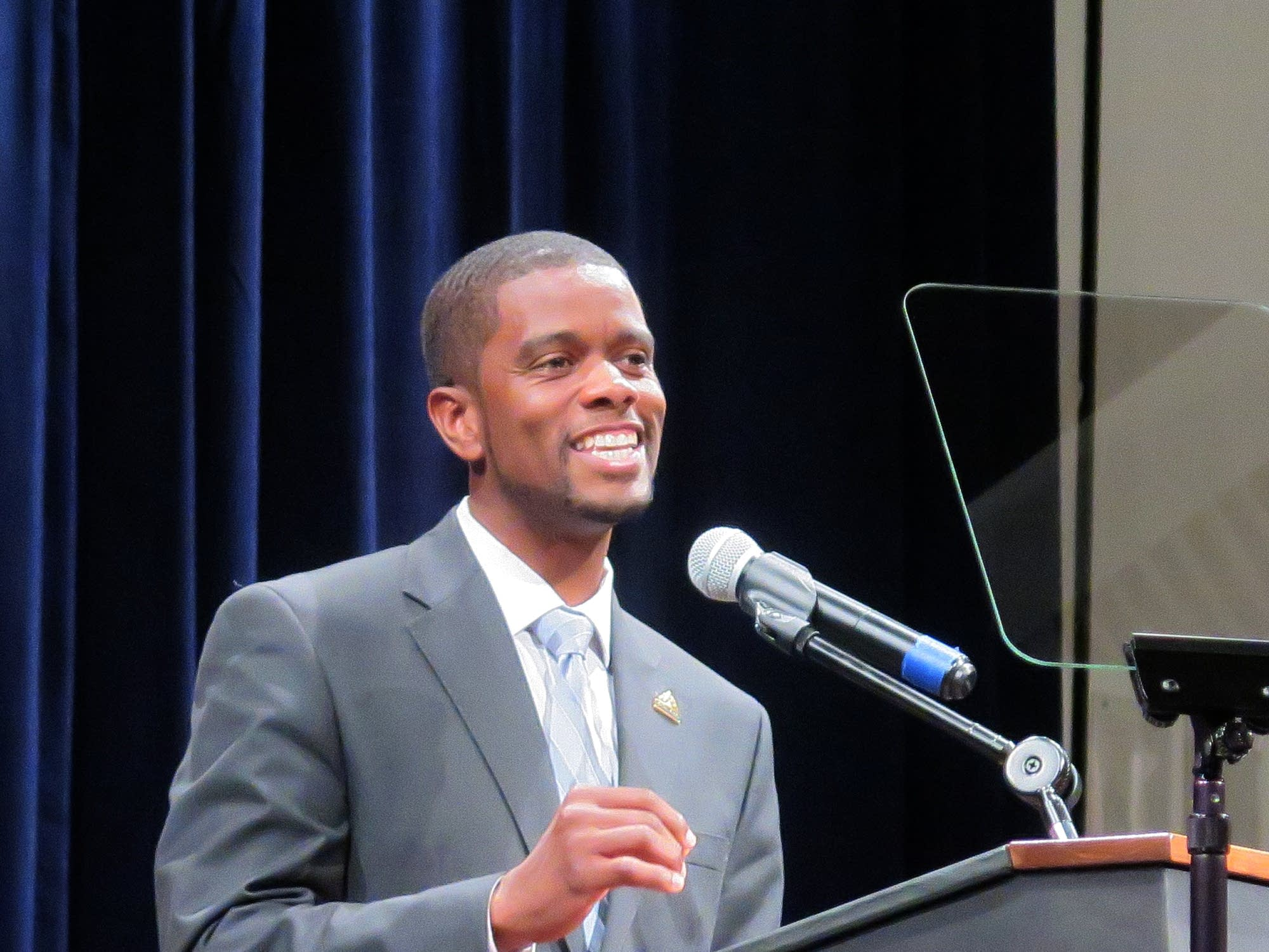 St. Paul Mayor Melvin Carter discusses the city budget.