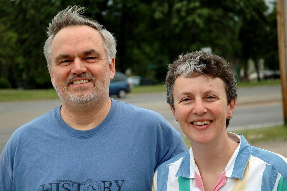 Brad and Nancy Bjorkman