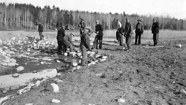 Headwaters improvement project in 1933