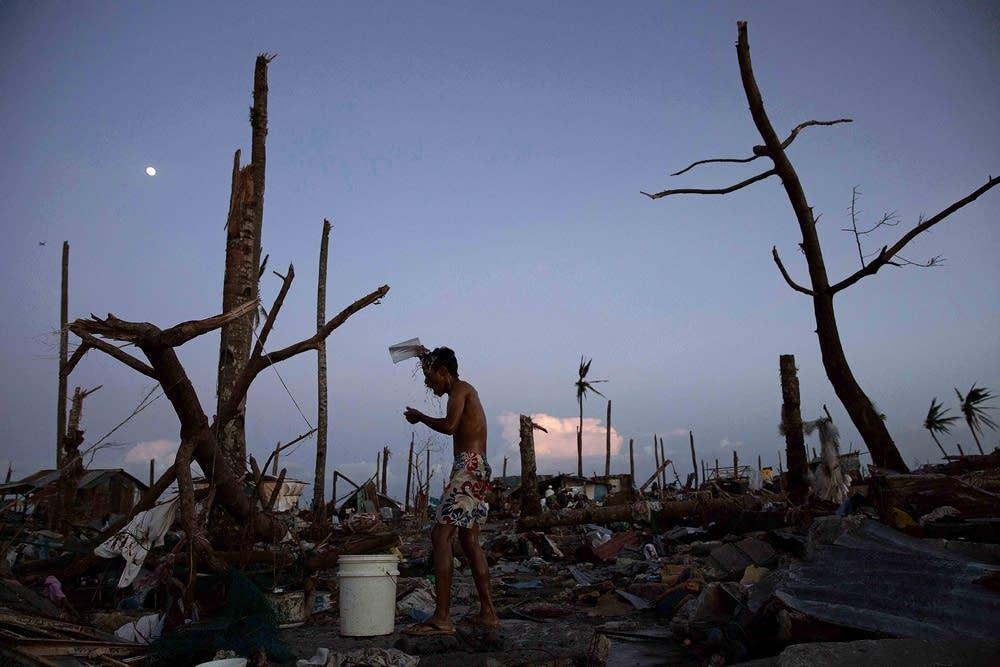 Humanitarian Efforts Continue Following Devastatin