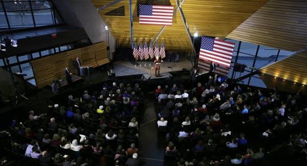 Hillary Clinton at the U