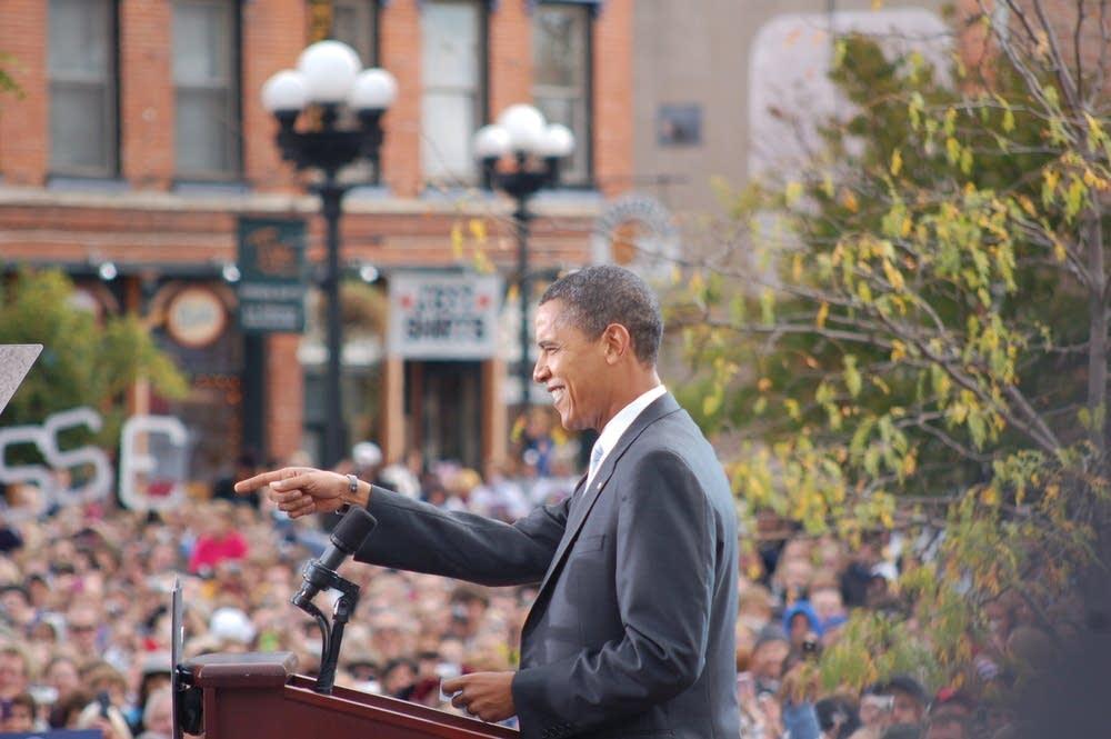 Obama in La Crosse