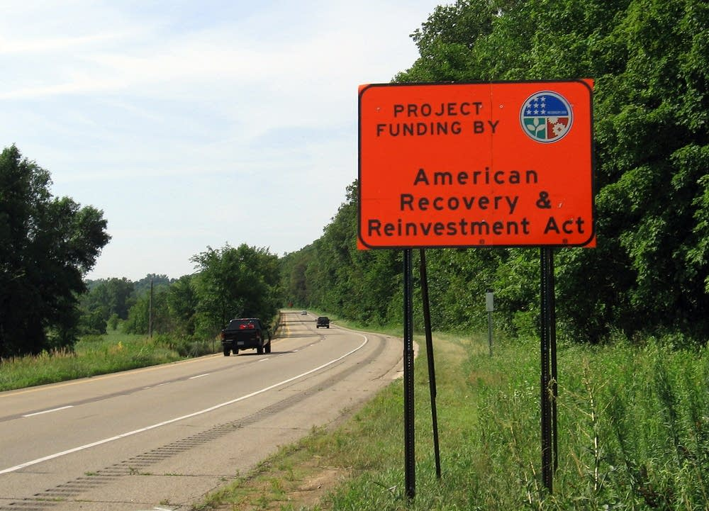 American Recovery & Investment Act sign