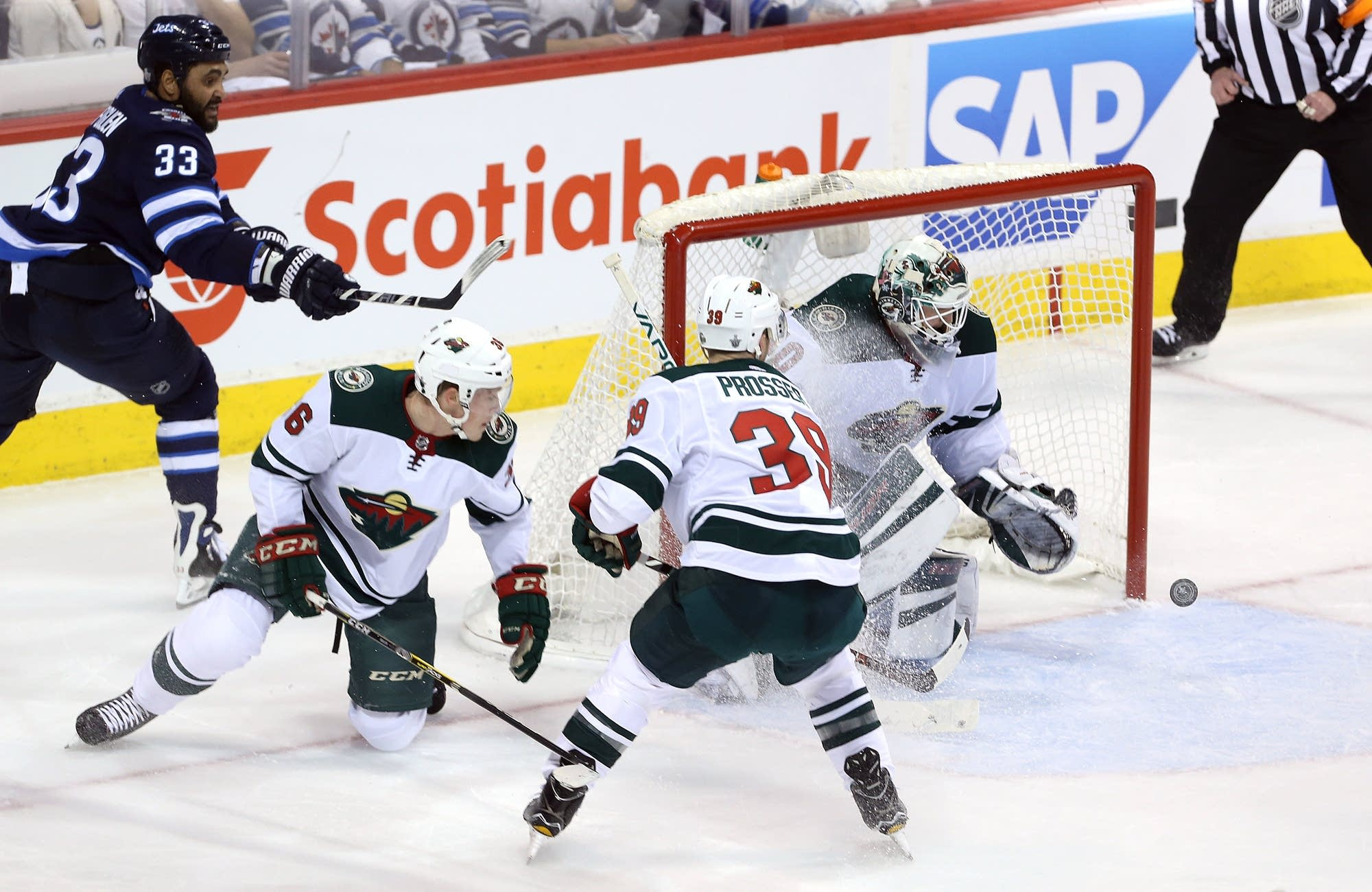 Minnesota Wild vs. Winnipeg Jets, 4-13