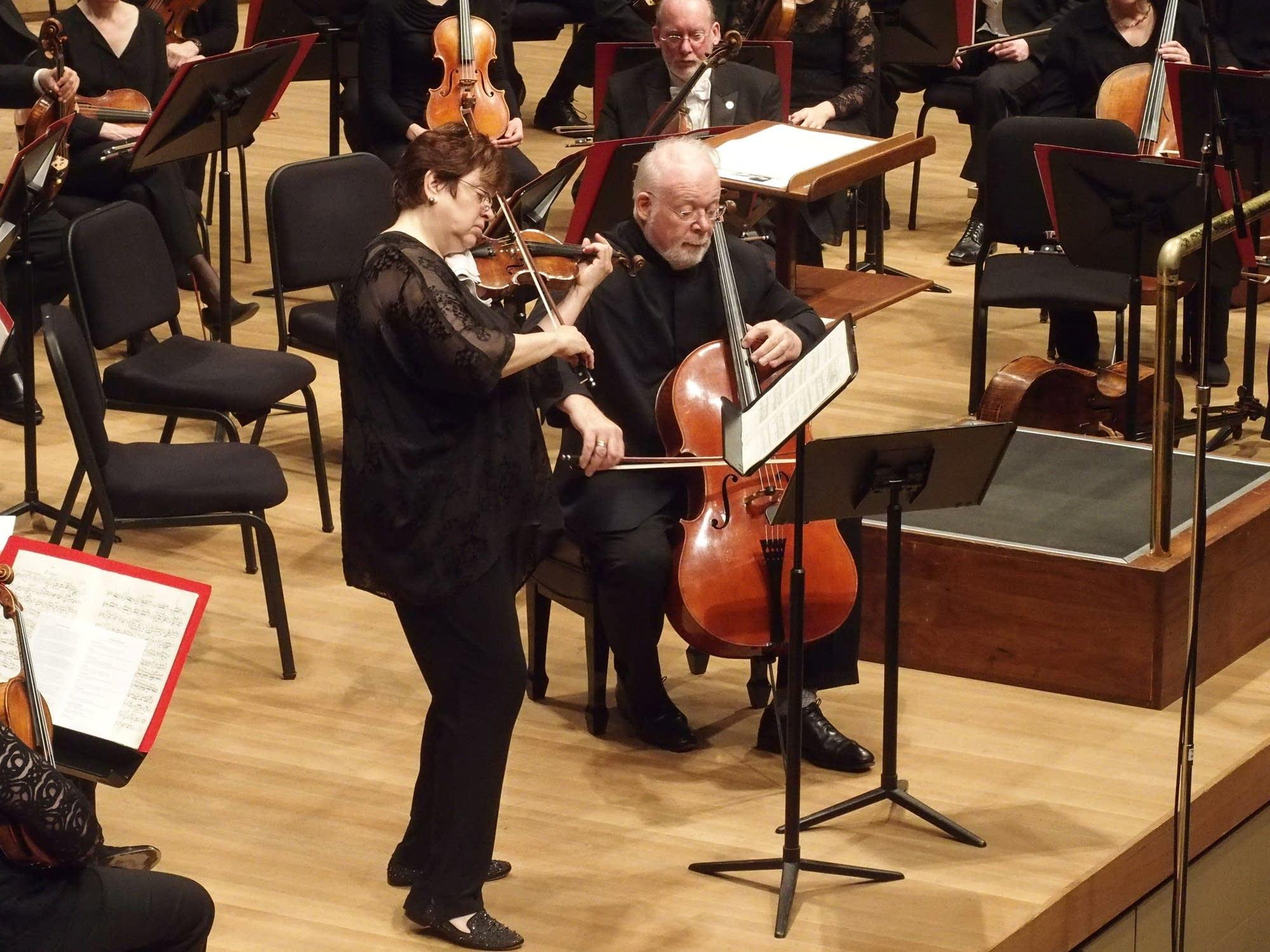 Former Minnesota Orchestra Concert Master Jorja Fleezanis