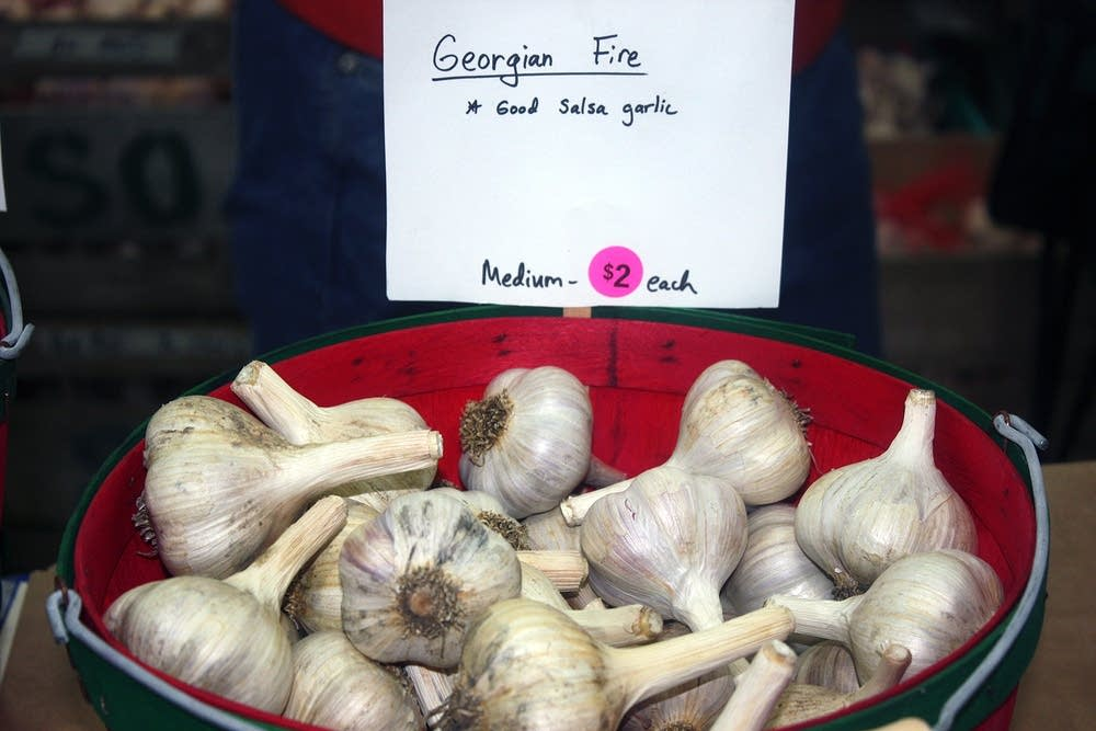 Georgia fire garlic