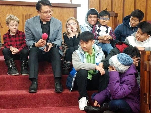 Mounds Park United Methodist Church Pastor Jay Jeong