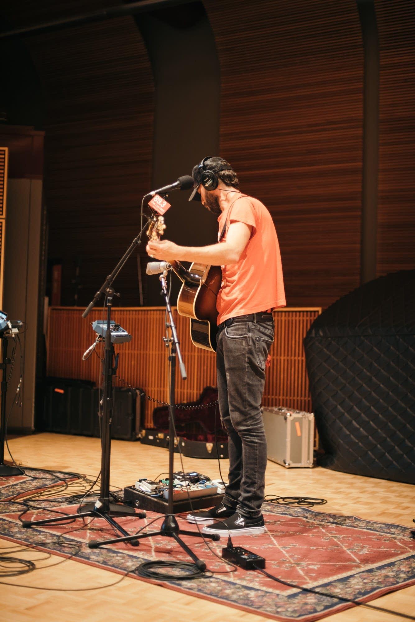 Mondo Cozmo performs in The Current studio