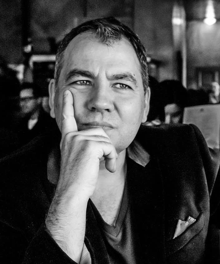 Composer Luc St. Pierre