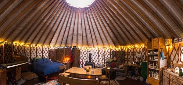 Even In The Frozen North A Yurt S So Good Mpr News Is it worth the initial cost? even in the frozen north a yurt s so