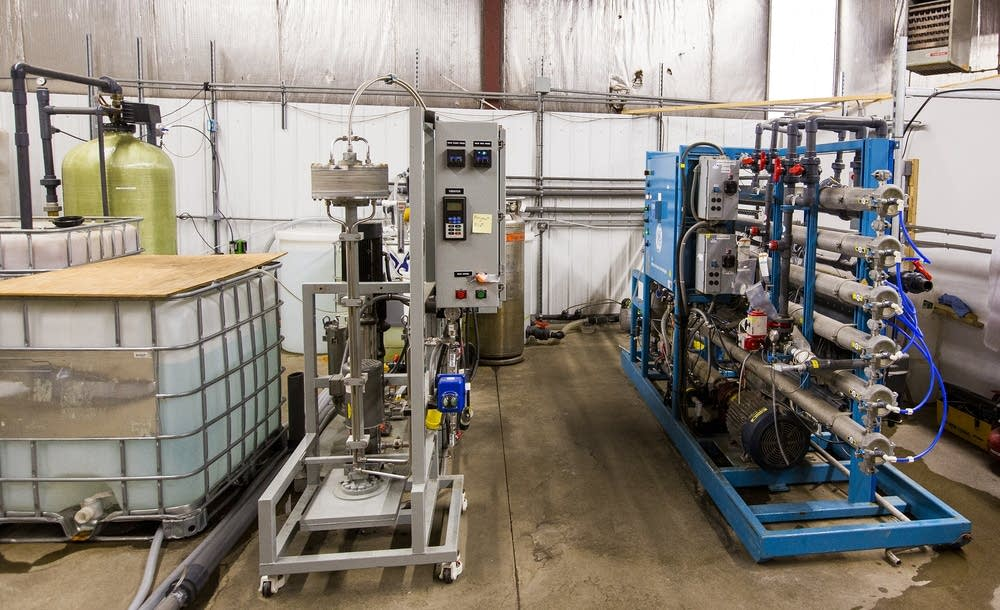 A reverse osmosis machine developed by Polymet