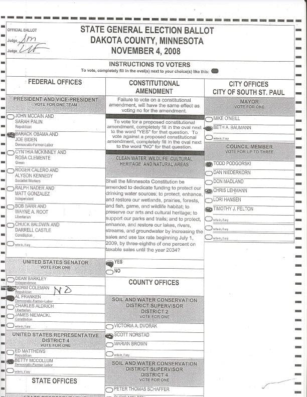 Ballot in question