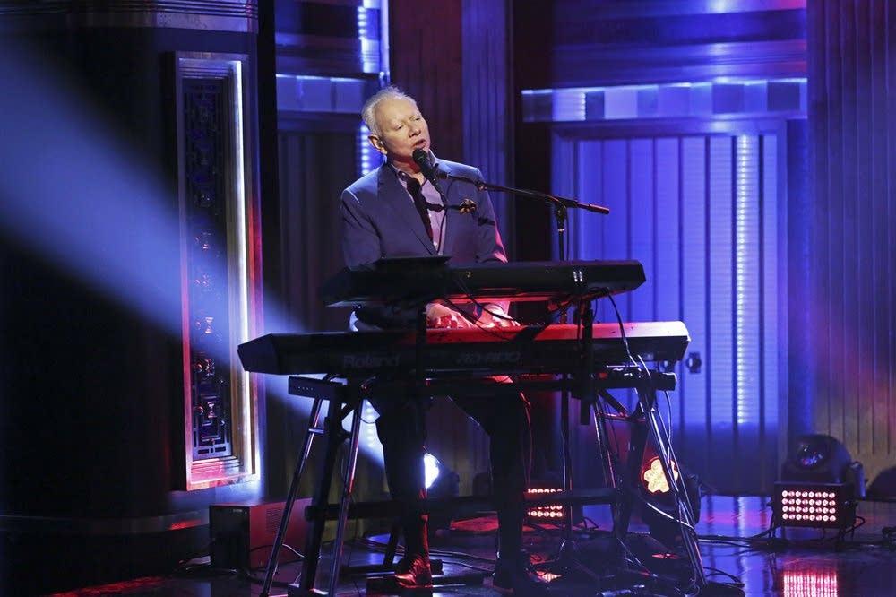Joe Jackson performs on 'The Tonight Show Starring Jimmy Fallon'