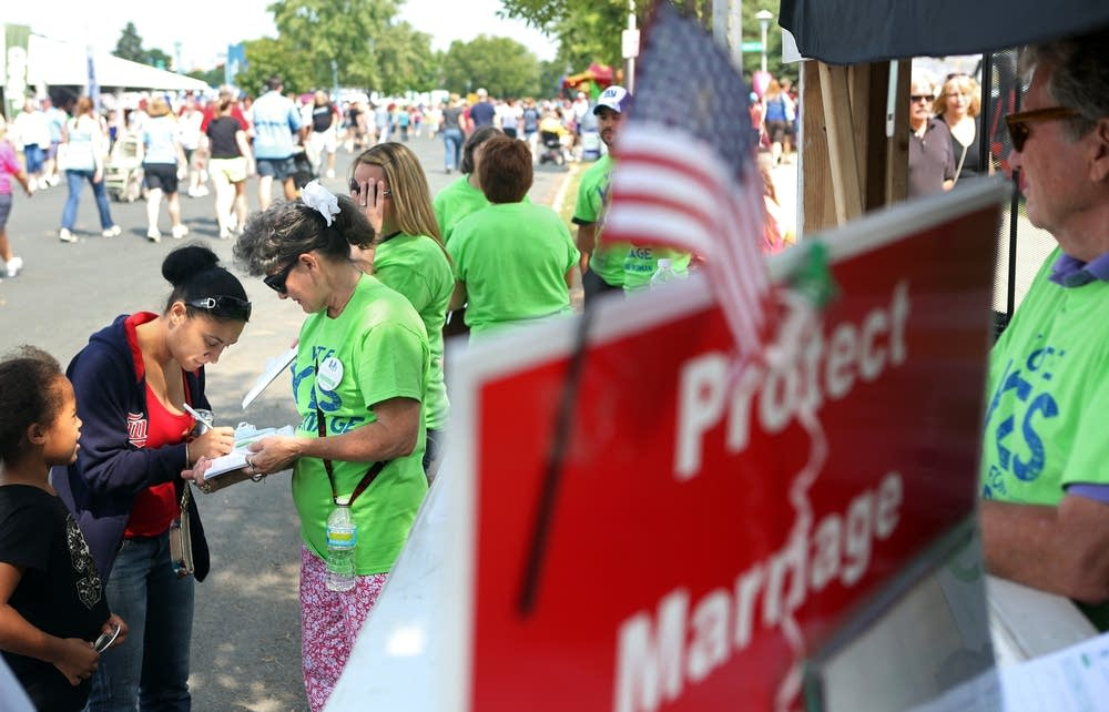 Supporting the marriage amendment