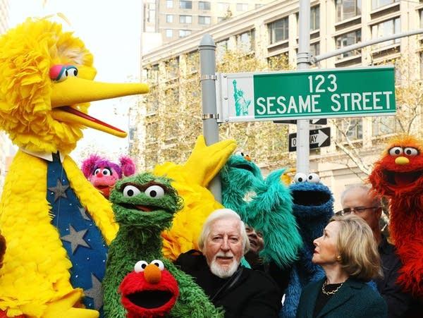 """Sesame Street"" 40th Anniversary Temporary Street Renaming"