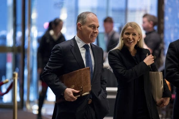 Scott Pruitt at Trump Tower