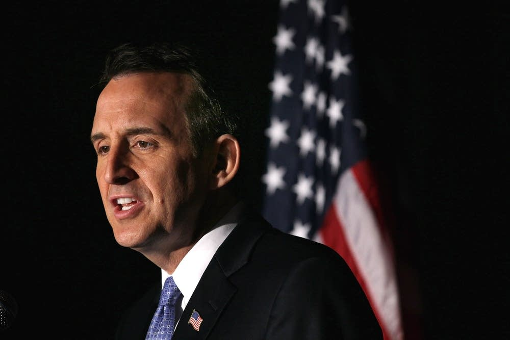 Tim Pawlenty delivers remarks on U.S. economy