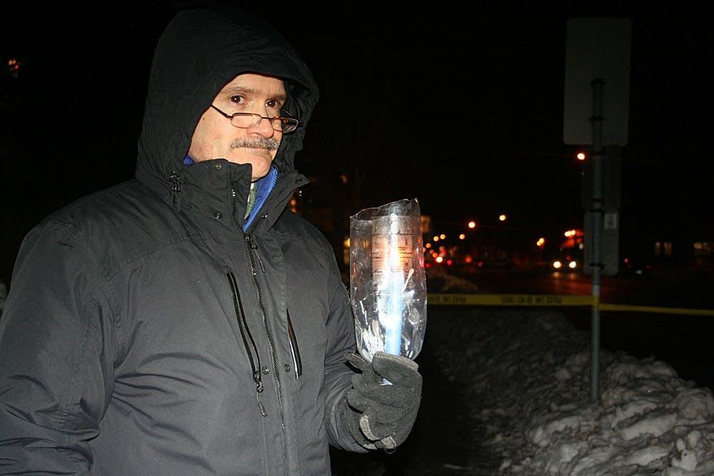 Vigil for victims