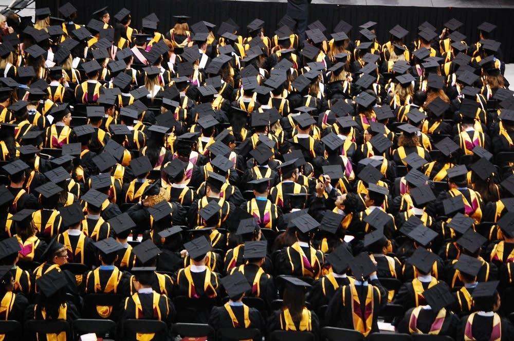 U of M graduate school grads