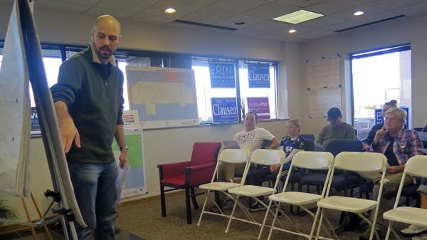 Ryan SanCartier gives tips on talking to voters.