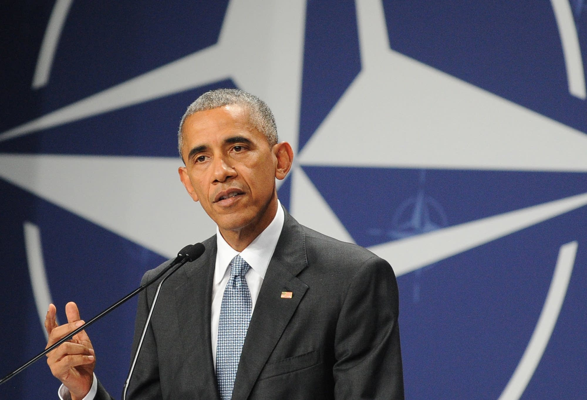 Pres. Obama in Warsaw