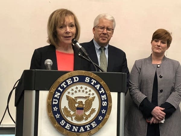 Sen. Tina Smith announces investments in community-based organizations