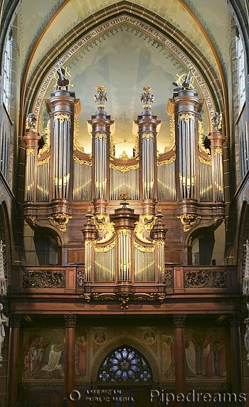 1772 Robustelly organ at Sint Lambertuskerk, Helmond, The Netherlands