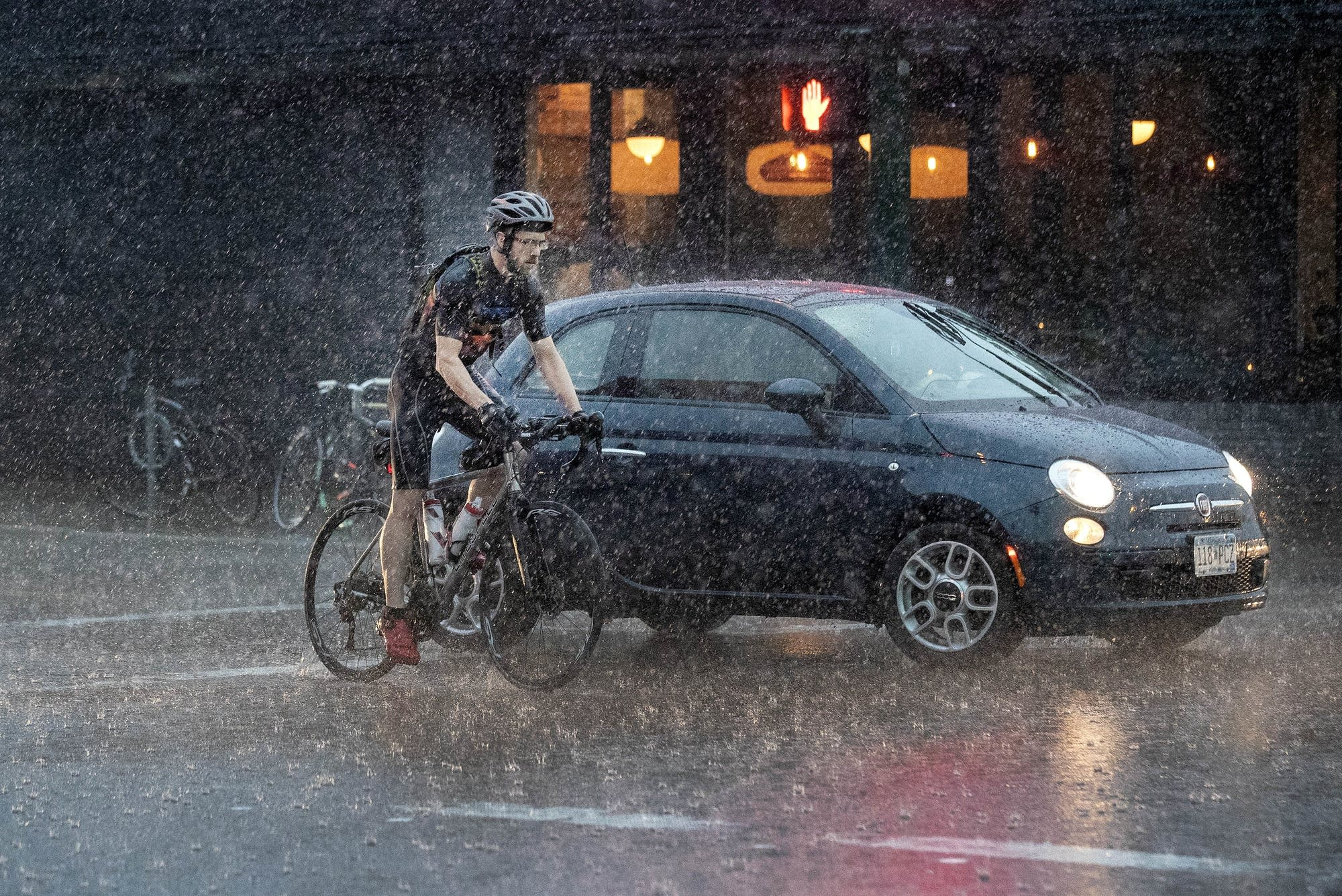 Increased rain is a primary sign of climate change in Minnesota.