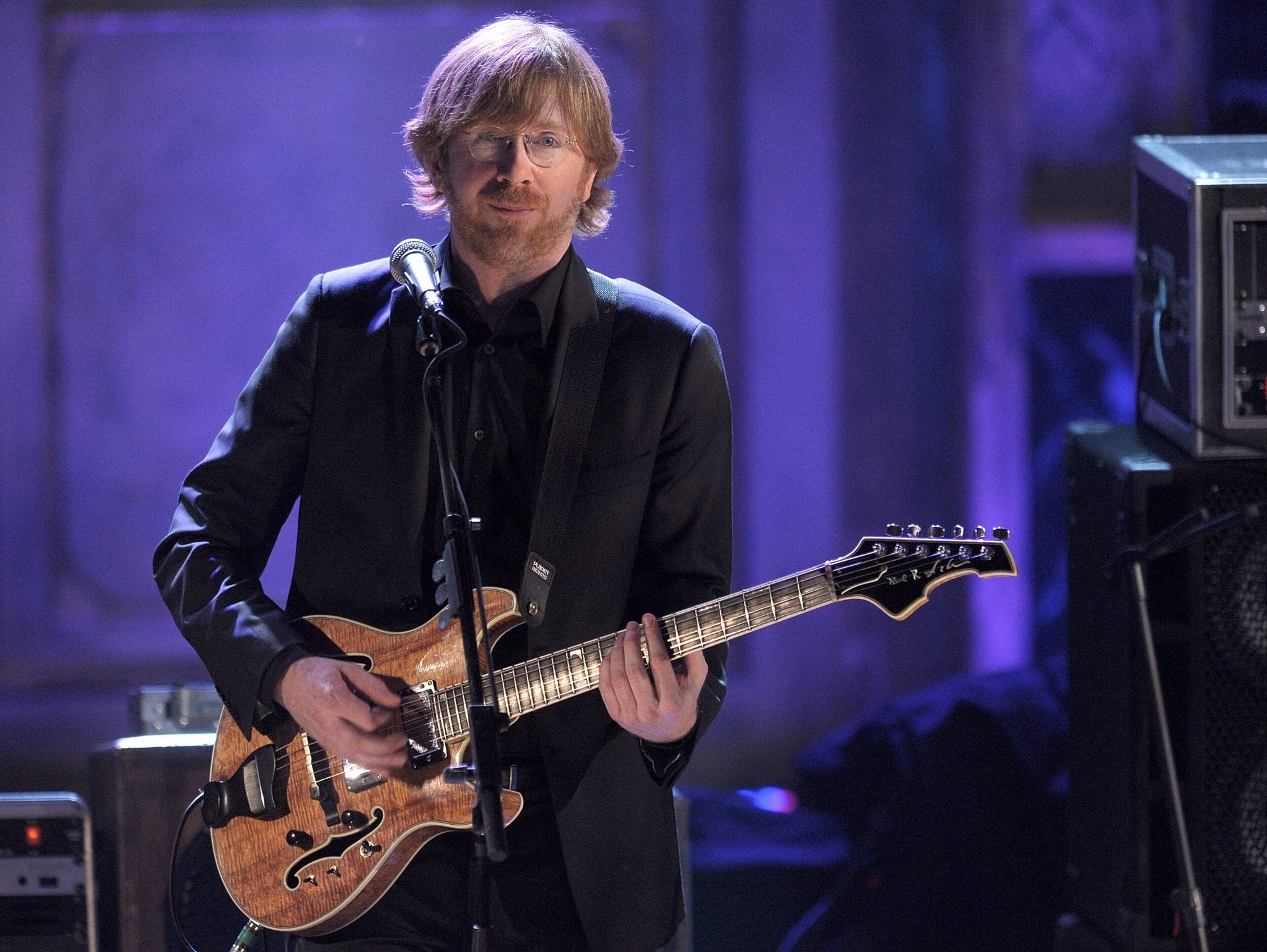 Trey Anastasio of Phish performs in 2010.
