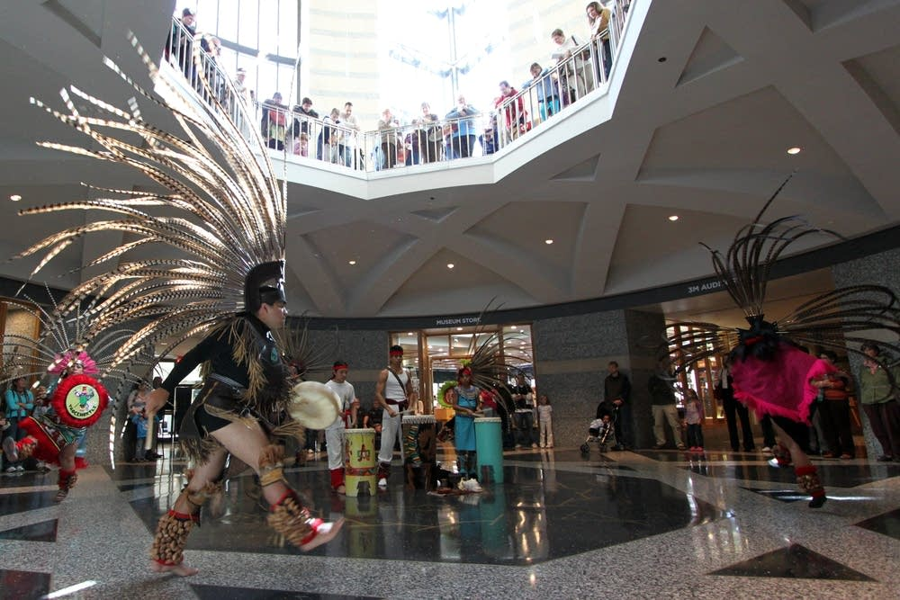 Aztec dance