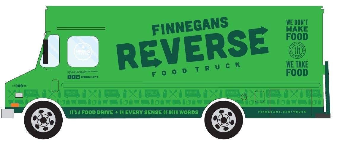 Reverse Food Truck design
