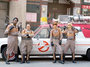 The cast of 'Ghostbusters' reboot