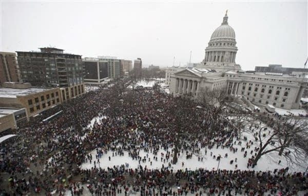 Madison rally the biggest yet