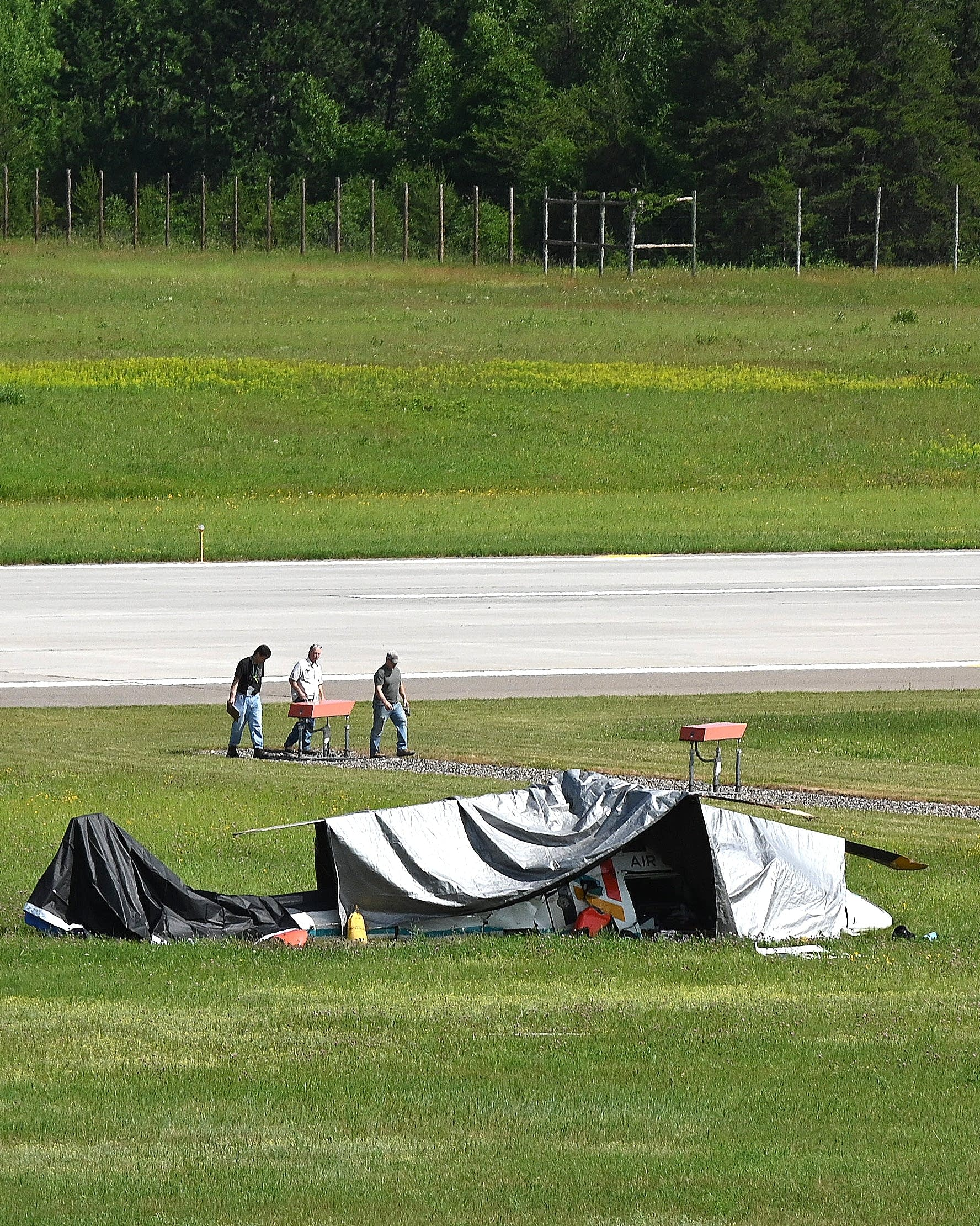 Authorities ID victims of medical helicopter crash in Brainerd | MPR