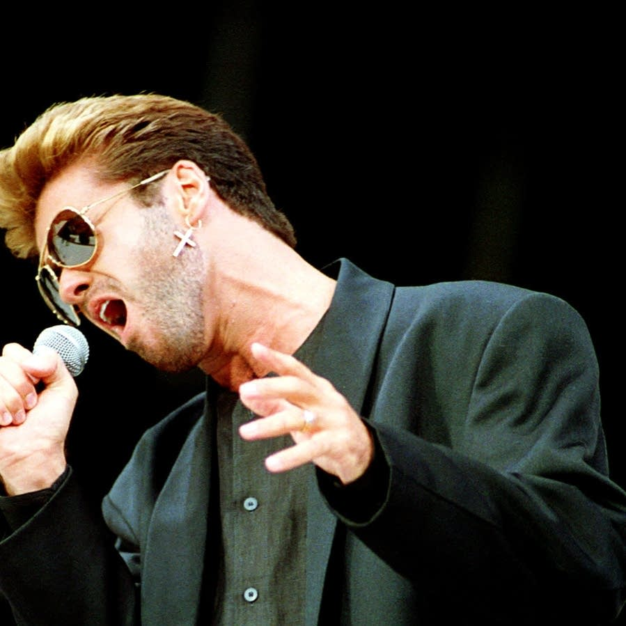 George Michael in 1988