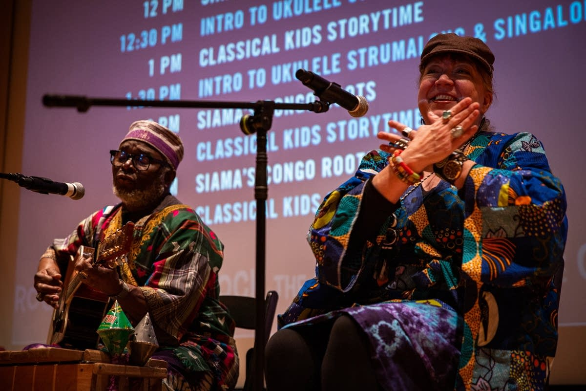 Siama's Congo Roots perform at Rock the Cradle 2020.