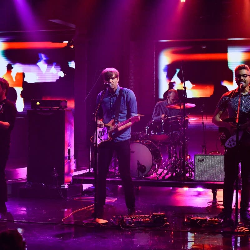 Death Cab for Cutie perform on 'The Late Show with Stephen Colbert'