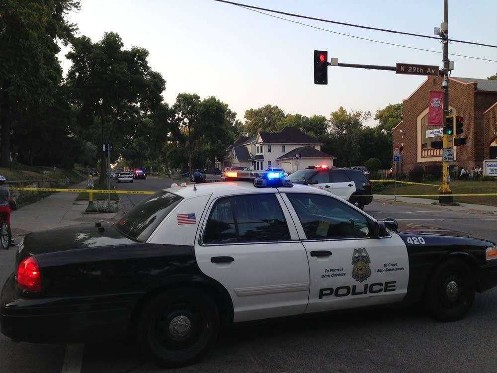 Police were called to a shooting in N. Mpls.