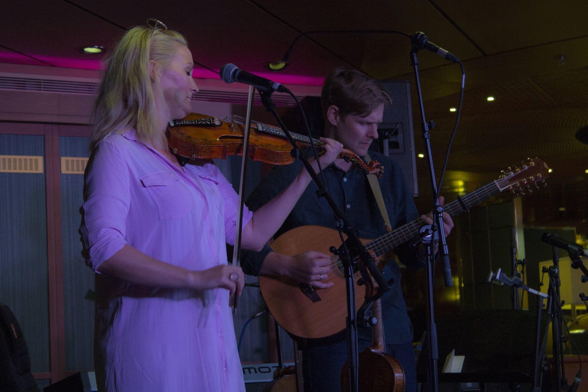 Edinburgh - 14 - Sigrid and Torbjorn