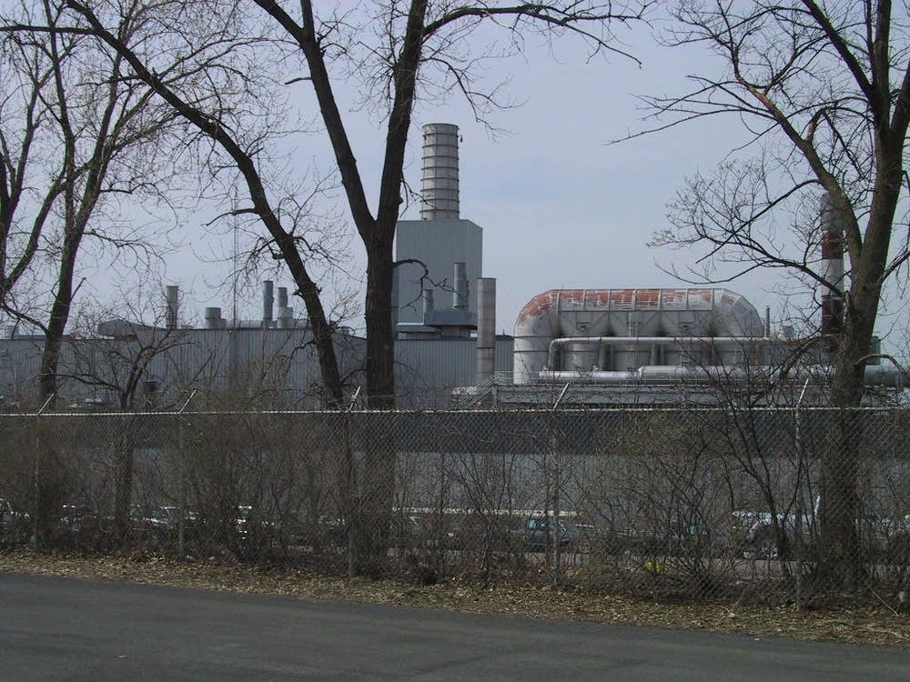 The Ford plant