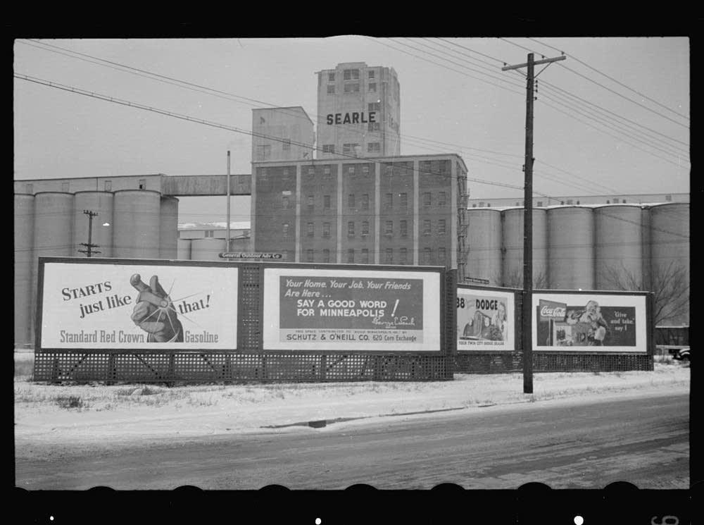 Flour mills and billboards