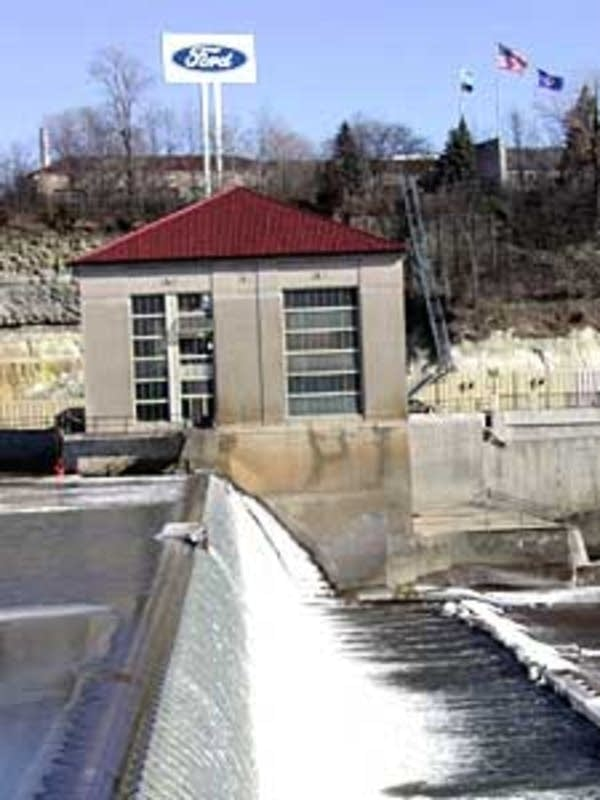 The hydro plant