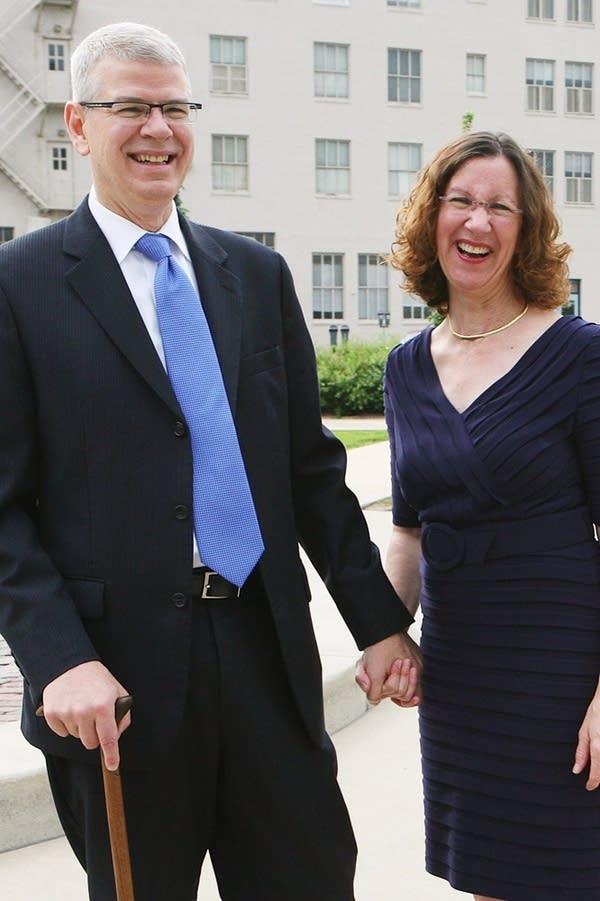 Bruce Kramer and Ev Emerson