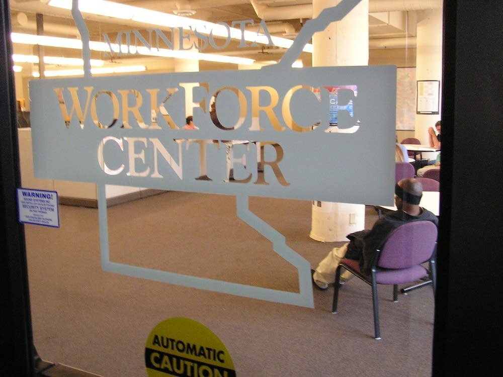 Unemployment workforce center