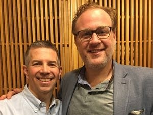 Steve Staruch with baritone Lucas Meachem