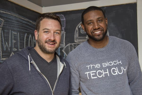 Casey Helbling and Mondo Davison of Software for Good