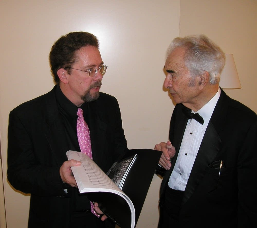 Bill Schrickel and Dave Brubeck